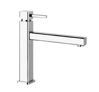 8301 - Single lever sink mixer with flexible pipes