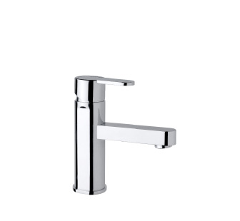 9418 - Single lever basin mixer with flexible pipes