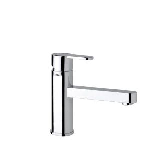 9418EX - Single lever basin mixer with flexible pipes