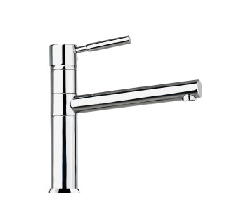 7801 - Single lever sink mixer with flexible pipes