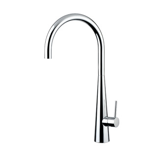 8201T - Single lever sink mixer with high spout and flexible pipe