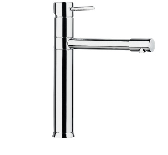 4102 - Single lever sink mixer with flexible pipes