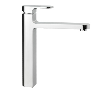 9101 - Single lever sink mixer with flexible pipes