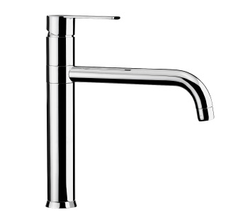 3101 - Single lever sink mixer with flexible pipes
