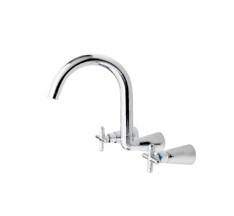 8506 - Wall mounted sink mixer
